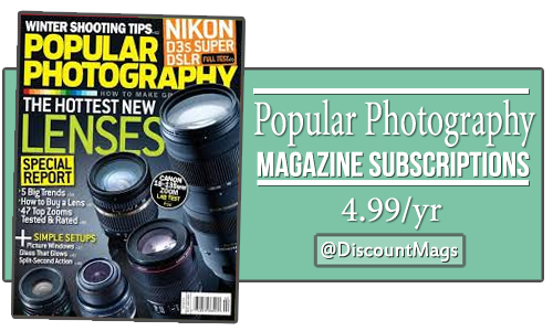 popular photography magazine deal for 499 a year
