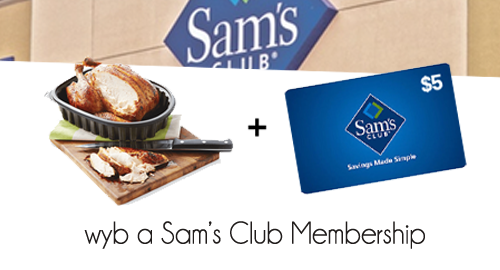 sams club membership deal
