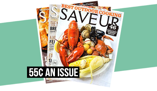 saveur magazine subscription for 499 a year