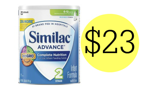 picture regarding Printable Similac Coupons named Similac Coupon Heavy Powder Formulation $23 :: Southern Savers