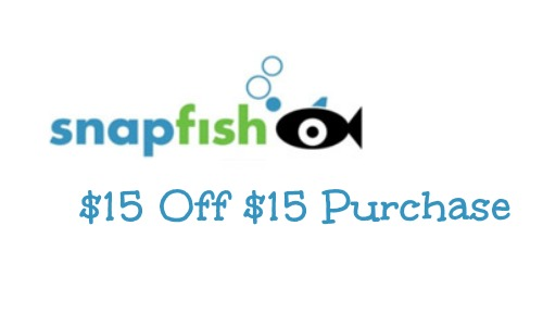 snapfish coupon 15 off 15 purchase southern savers