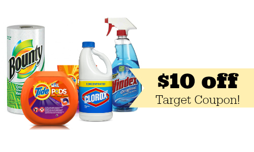 target household supplies deal ideas