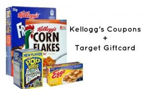 target giftcard deal kellogg's