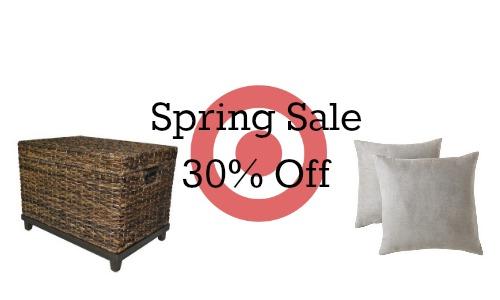 target home spring sale