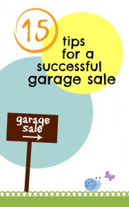 Planning a garage sale? Get the most out of it with these tips for a successful garage sale! Be prepared, have fun, and make money at the same time.