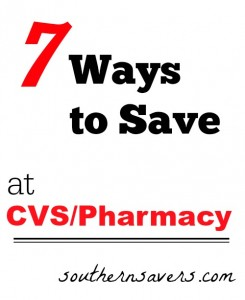 To make drugstore deals super simple, here's 7 ways that you can up your CVS game and save even more money!