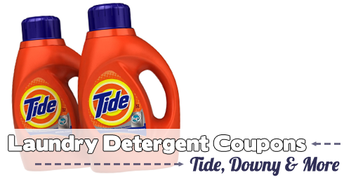 Tide Printable Coupons More Laundry Detergent Offers