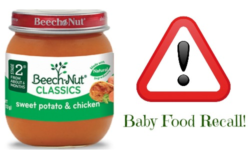 Beech-Nut Baby Food Recall For...