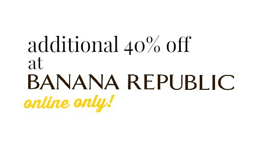banana republic online sale