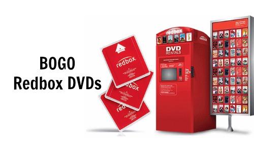 bogo redbox dvds