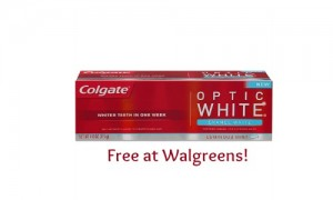 colgate optic white coupon free