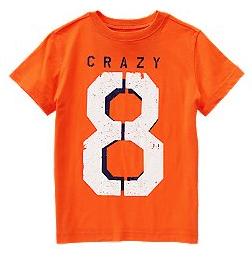 crazy 8 tee