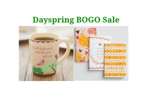 Dayspring: Buy One, Get One Free Sale + More