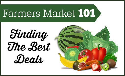 A guide to finding the best deals on produce at the Farmers Market.