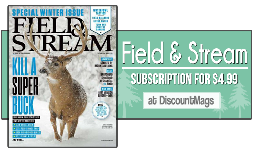 field and stream magazine subscription 4.99