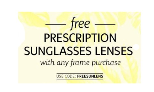 free prescription sunglasses lens