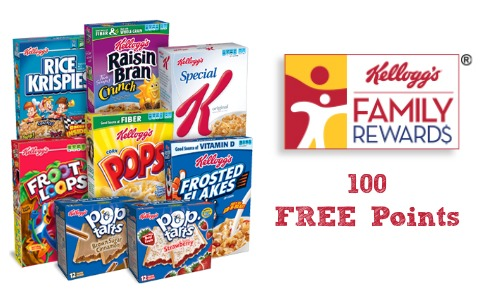 kelloggs family rewards code