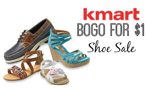 kmart shoe sale