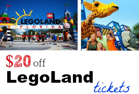 legoland ticket deals