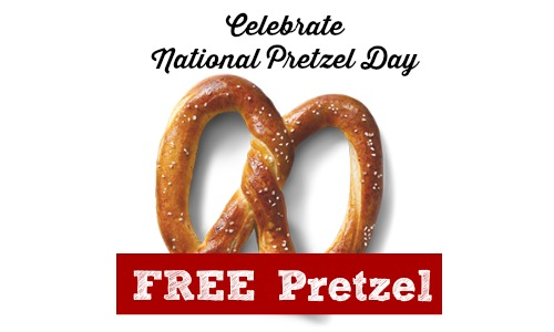pretzel day offers