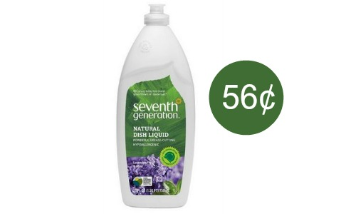 seventh generation coupon dish soap