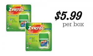 zyrtec coupon