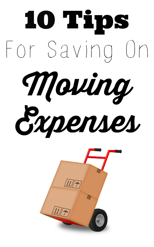 10 tips to save on moving