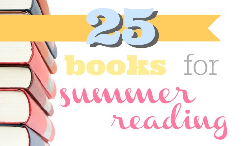 25 books to put on your summer reading list.