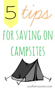 Stay frugal during your outdoor adventures whi summer with my 5 tips for saving on campsites!