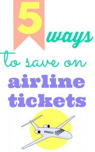 Traveling anytime soon  Here are 5 ways to save on your airline tickets for the next time you're planning a frugal vacation.