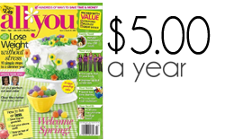 all you magazine deals 5 a year