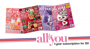 all you magazine subscription 5 a year