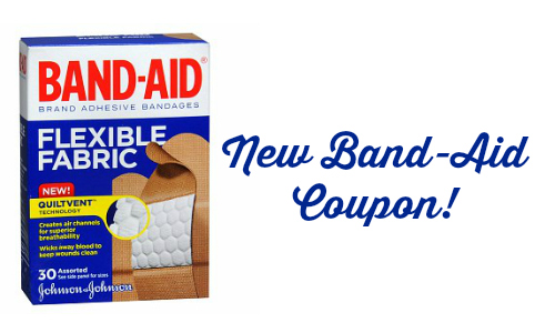 new band-aid coupon