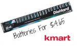 Kmart Deal: 24 Pack AA or AAA Batteries, $4.65