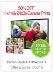 CVS Photo Deal: 50% Off Canvas Prints