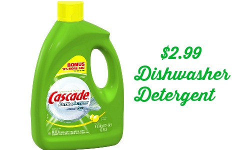 picture relating to Cascade Coupons Printable called Cascade Coupon Dishwasher Detergent for $2.99 :: Southern