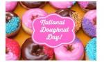 Krispy Kreme: National Doughnut Day, 6/5