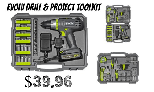 evolv drill and toolkit