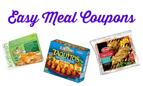 easy meal coupons