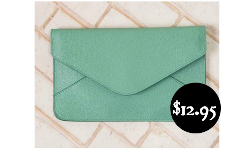 envelope clutch handbag