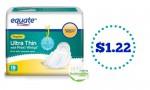 Equate Coupon | $1.22 Pads At Walmart