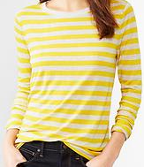 fluid stripe tee