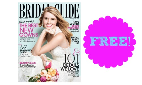 Free Subscription to Bridal Guide Magazine