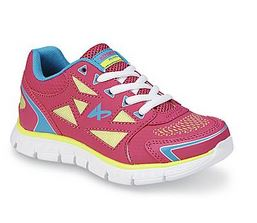 girls athletic shoe