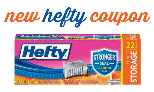 hefty slider bags coupon