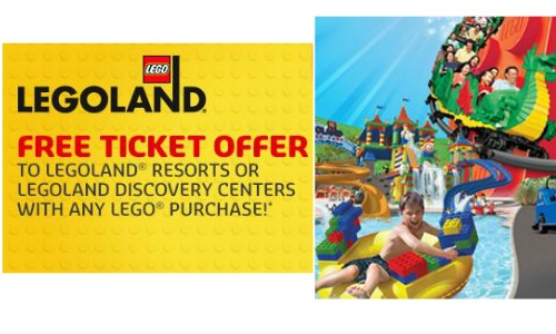 Legoland discounts and coupons