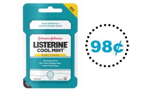 listerine mint floss