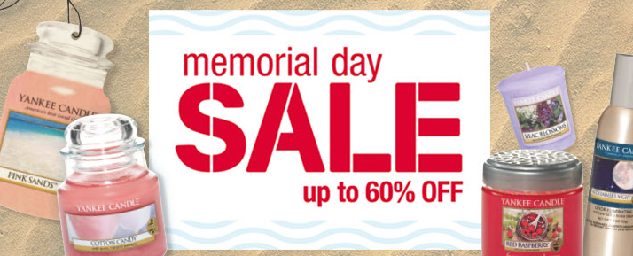 memorial day candle sale