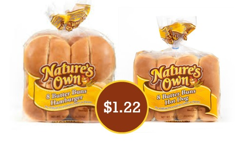 natures own buns coupon