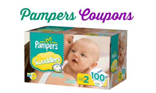 Pampers coupon codes